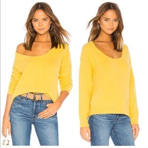 Lovers and Friends Sotto Sweater in Yellow